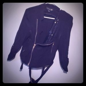 🖤Forever 21 Black Fashion Jacket